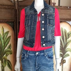 Express Jean vest